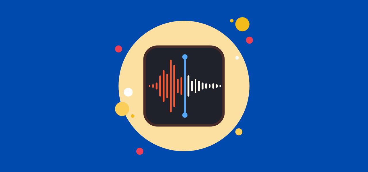 Lydopptak app fra Apple