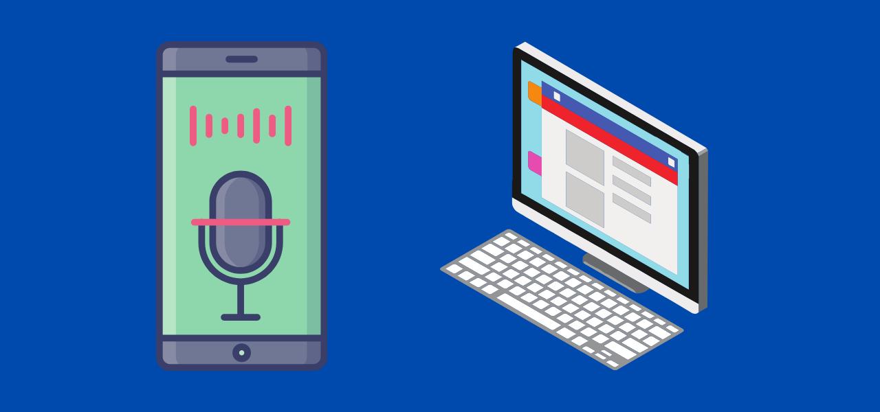 Lydopptak av samtaler på PC og mobil