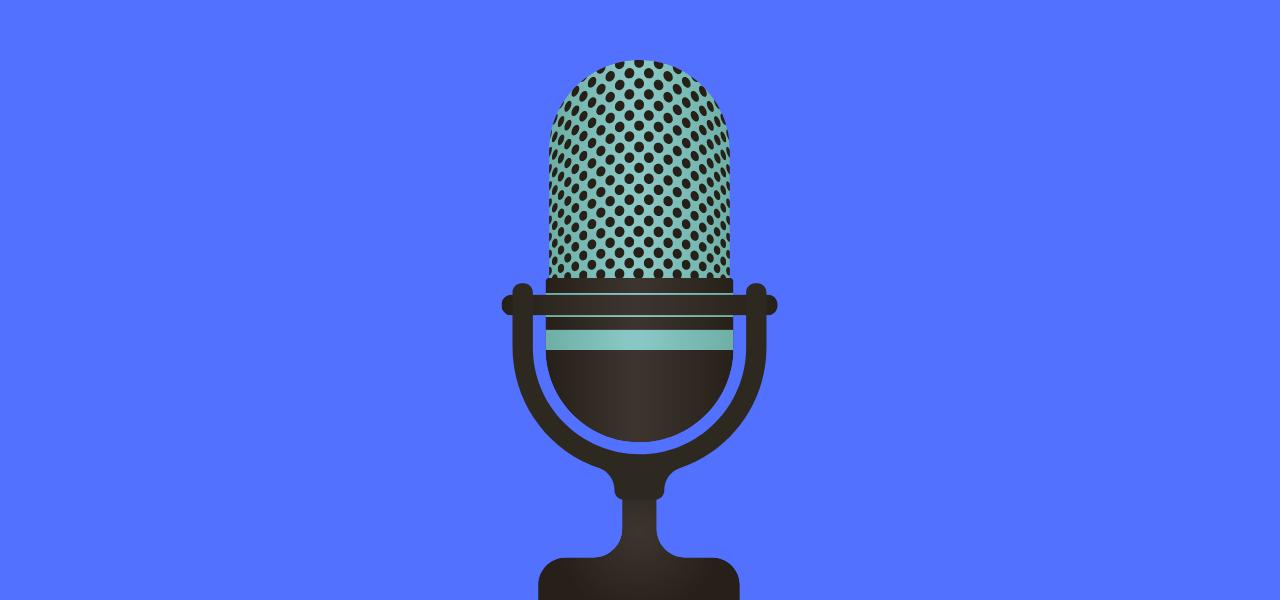 Mikrofon for opptak av samtale